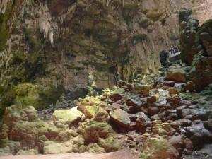 pohled do jeskyně Grave