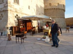 Otranto - bleší trh